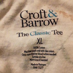 croft & barrow Tops - 🌈 Croft & Barrow top